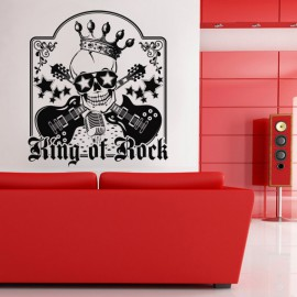 red leather sofa in a modern living room with home theatre system - digital artwork